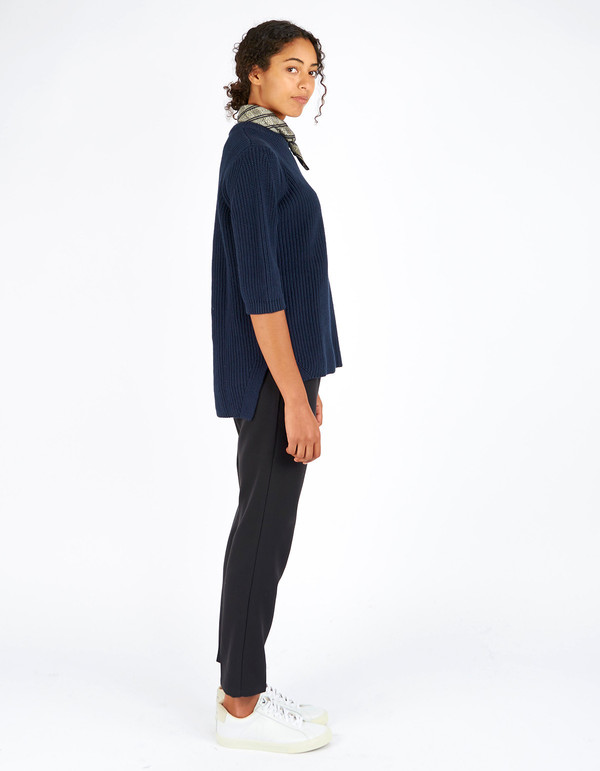 Just Female Ashley Blouse Dress Blue