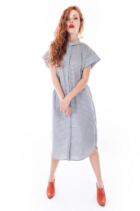 Kowtow Journey Dress (Sea Stripe)