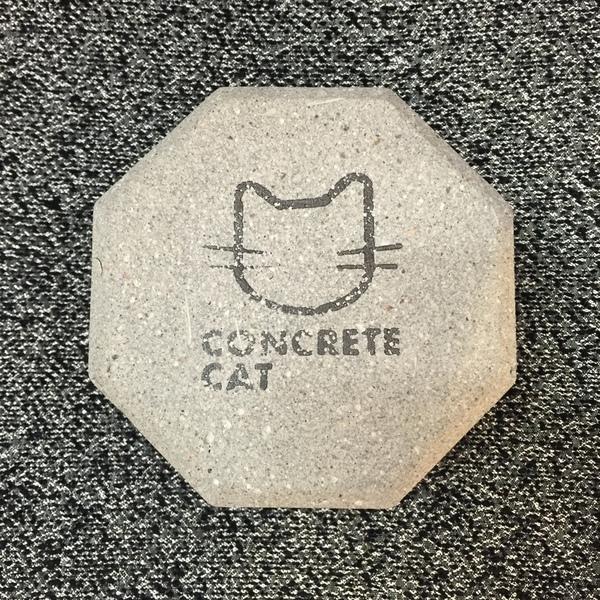 Concrete Cat Incense Burner