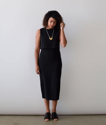 Lumiere Cutout Black Dress