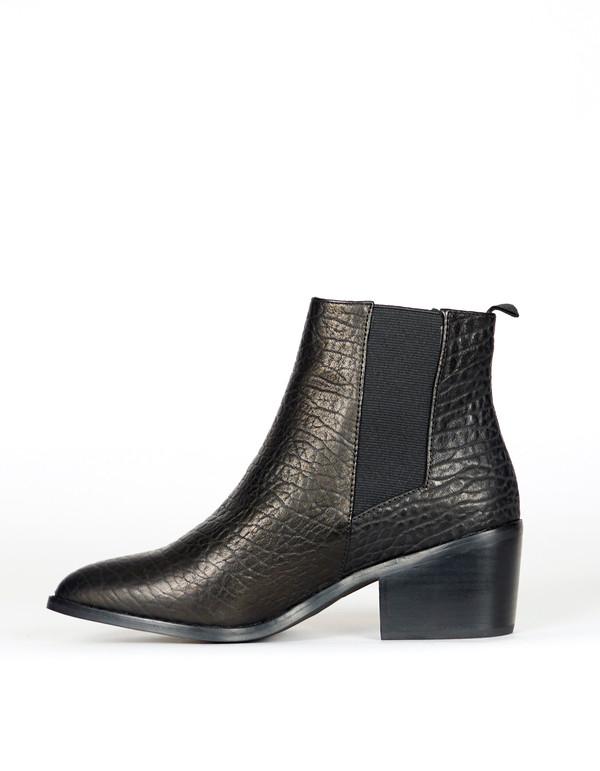 Sol Sana Edgar Boot Elephant Black Leather