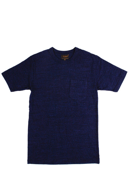 Men's National Athletic Goods Pocket Tee Indigo