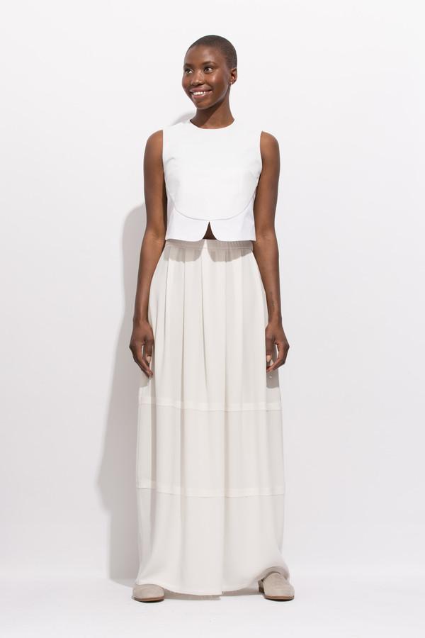 SCHAI Lunar Cocoon Maxi Skirt