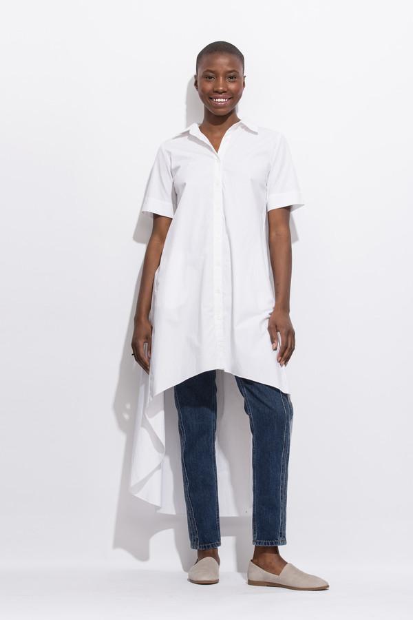 Project 6 Maaya - Hi Lo White Dress