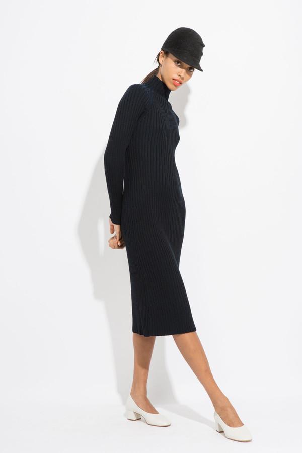 Suzanne Rae Mock Neck Knit Dress