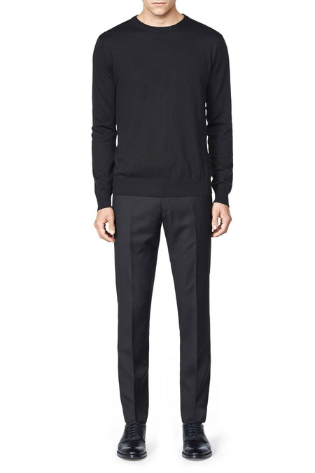Men's Tiger of Sweden Matias Wool Pullover | Black
