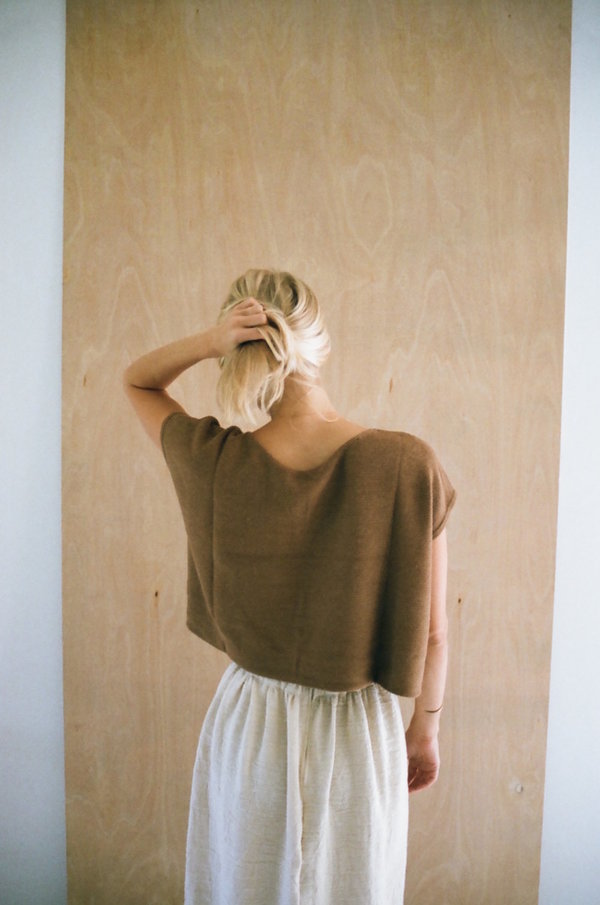 Han Starnes Knit Top - Vicuna