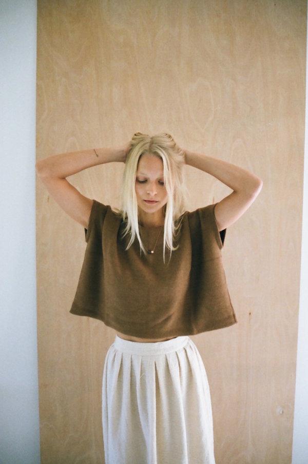 Knit Top - Vicuna