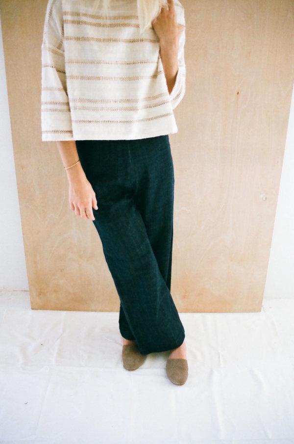 Han Starnes Denim Pants - Navy