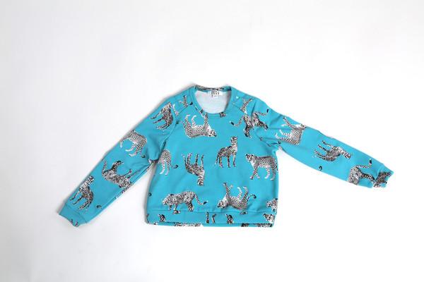 Beru Kids Hayes Leopard Sweatshirt