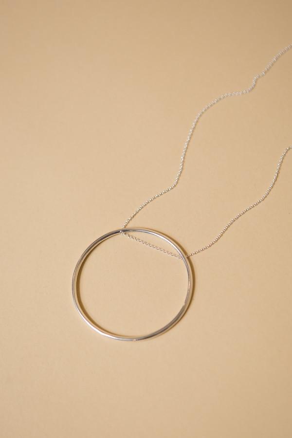 Seaworthy Supermoon Necklace / Silver