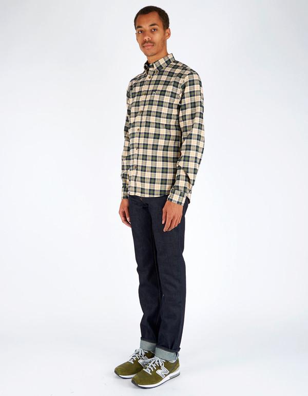 Men's Fjallraven Stig Flannel Shirt Chalk White