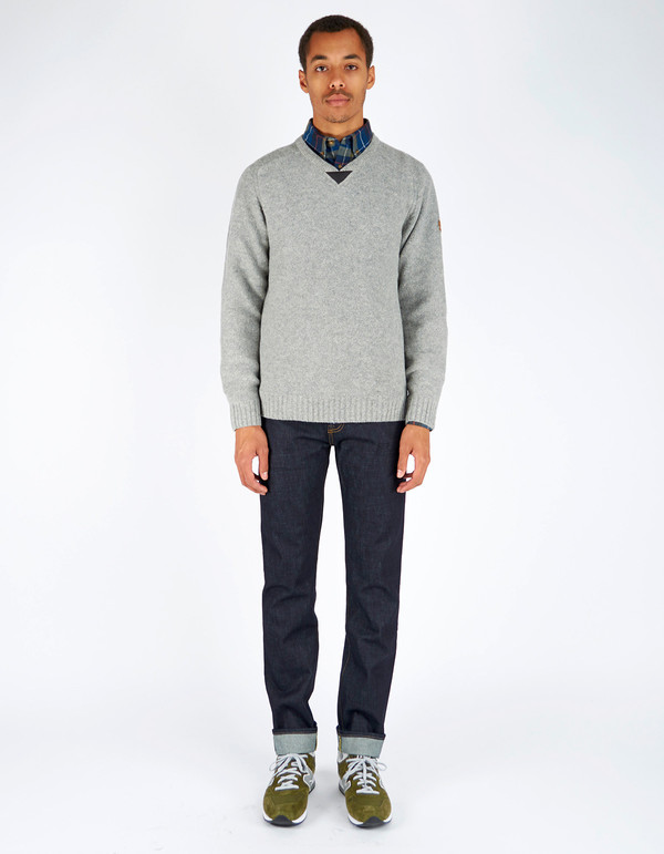 Men's Fjallraven Woods Sweater Grey