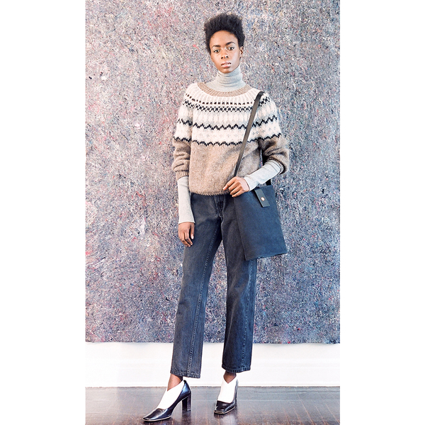 Pari Desai Lopi Sweater - Tawny