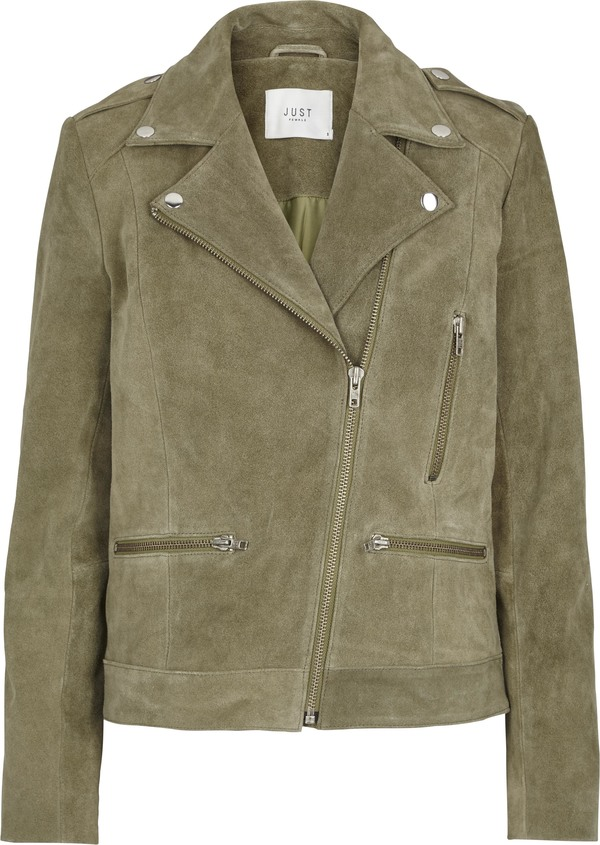 Just Female SUEDE MOTO JACKET