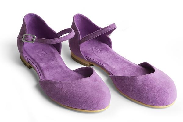 Rafa Mary Jane Ballet Flat –Heliotrope