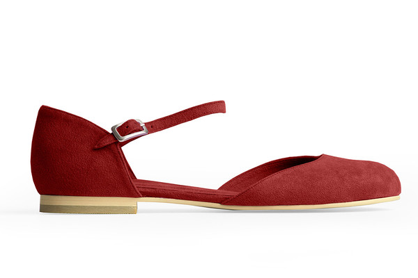 Rafa Mary Jane Ballet Flat – Ruby