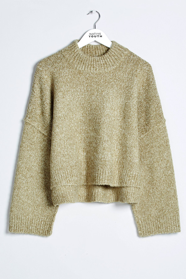 Native Youth Riverine Crew Neck Sweater