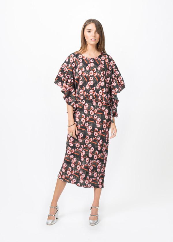 A Détacher Ruffle Bell Dress