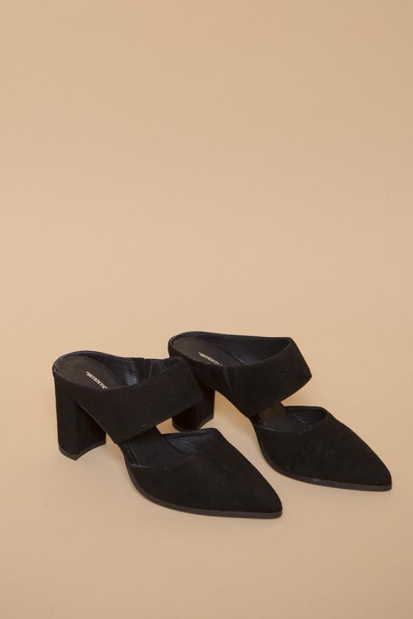 Intentionally Blank Missy Heel in Black Suede