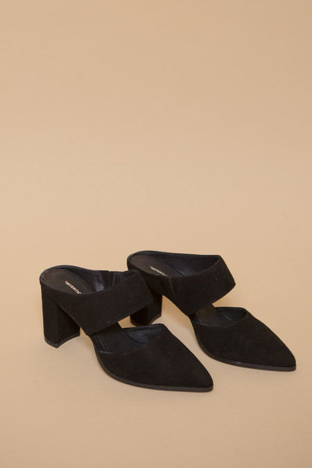 Intentionally Blank Missy Heel in Black Suede
