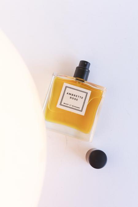 MUSC et Madame AMBRETTE ROSE eau de parfum