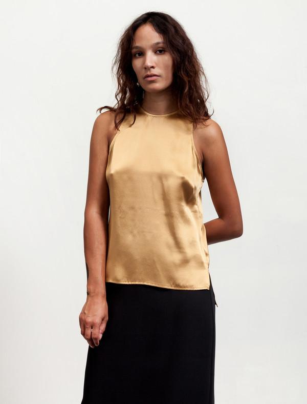 Catherine Quin Womens Soriano Top Marigold