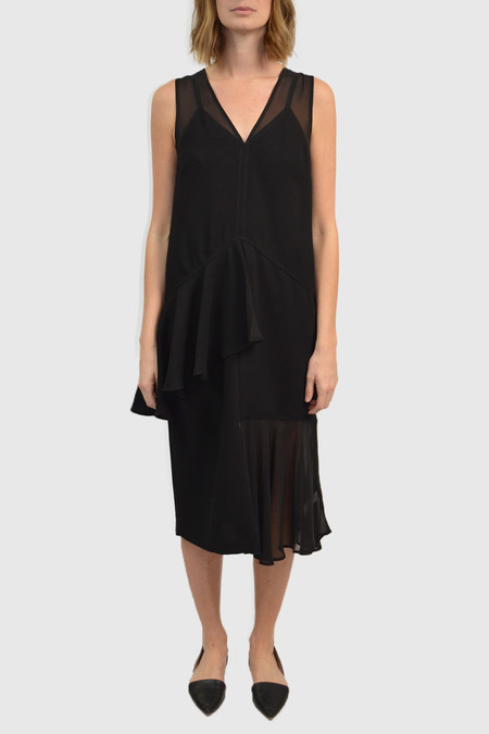 Opening Ceremony Talene Swing Dress | Black