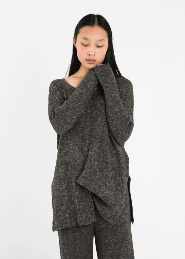 Kordal Dark Grey Evelyn Sweater