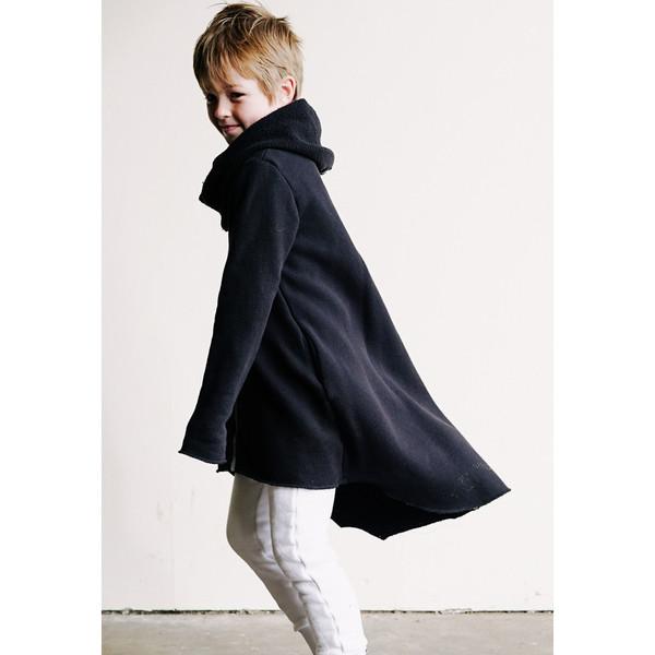 Kid's Mimobee Vader Hooded Sweat - Black