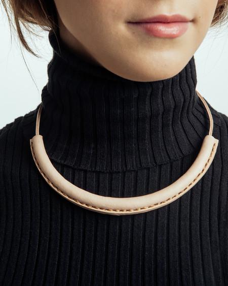 Crescioni Circuit Necklace in Natural