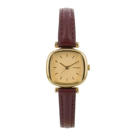Komono  - Moneypenny Watch - Or/Peach