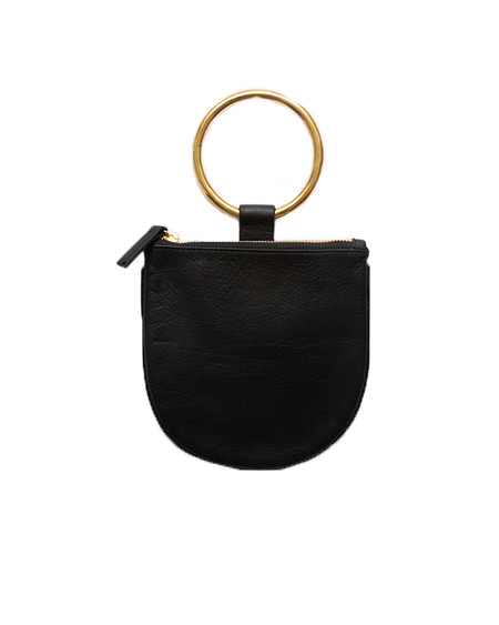 Otaat/Myers Small Ring Pouch in Black