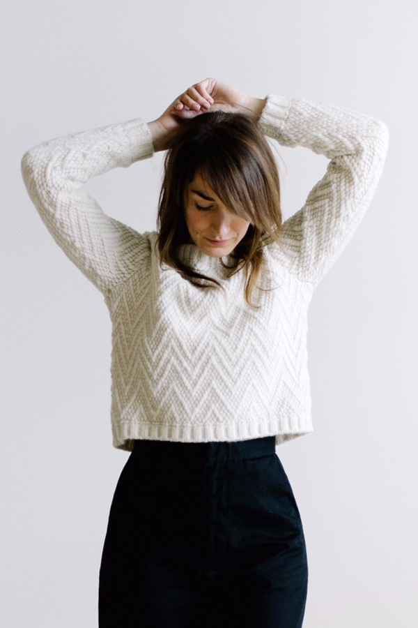 Kordal Cleo Sweater - White