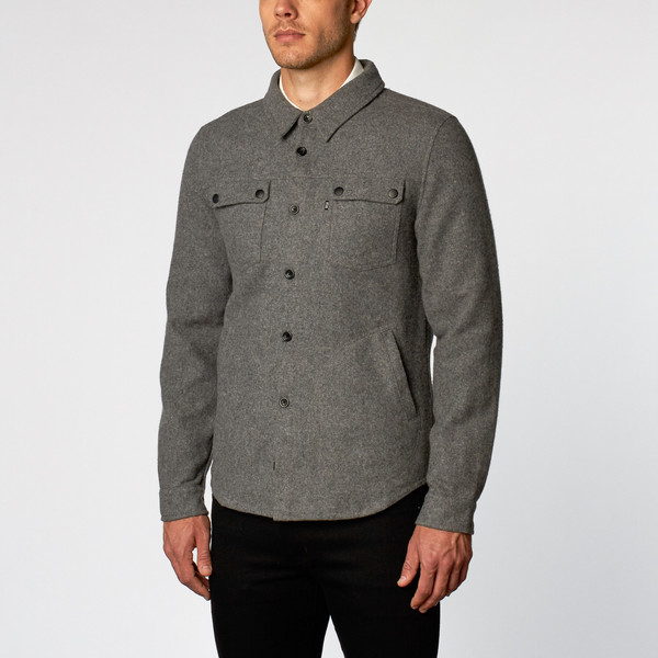 Men's Wolf & Man Ryze Jacket