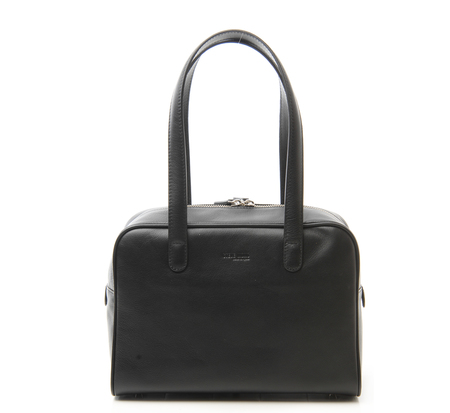 Steve Mono Black Small Petra Bag