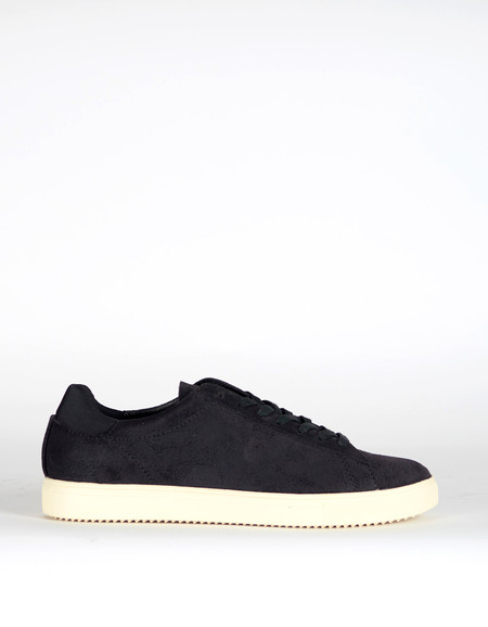 Men's Clae Bradley Waxed Suede Black