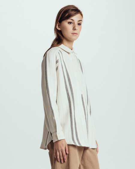 Sessun Santiago Candelaria Striped Shirt