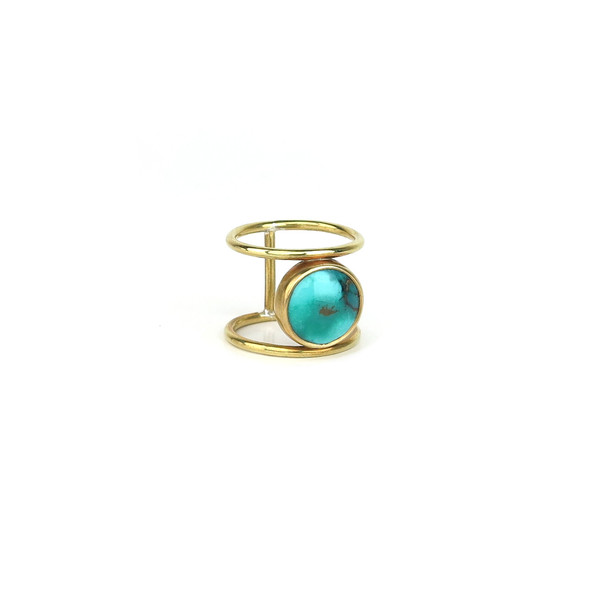 Claire Green Oasis Ring