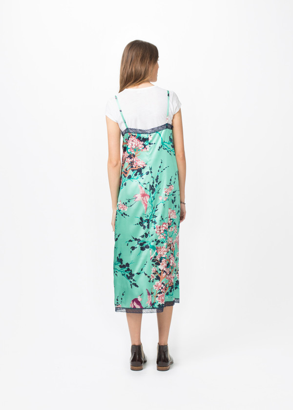 Laura Urbinati Silk Slipdress