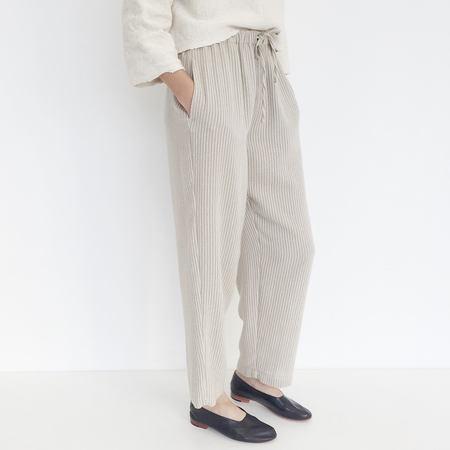 Johan Vintage Beige Stripe Knit Pant