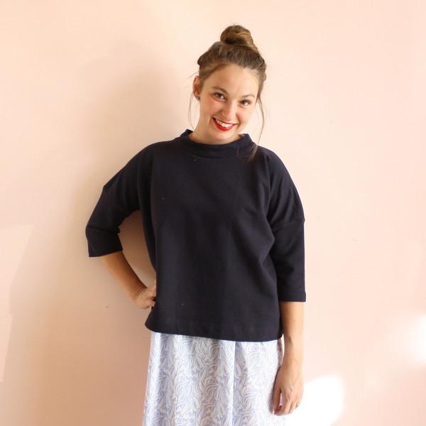 Ilana Kohn Barby Shirt - navy