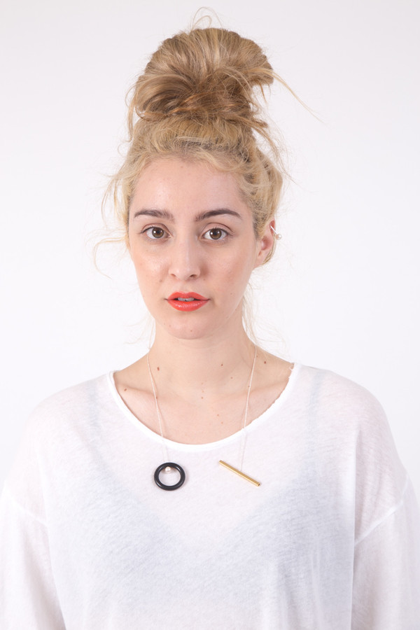 FAUX/real Stuck in a Situation Necklace