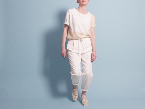Correll Correll Ecke T-Shirt - Natural/White