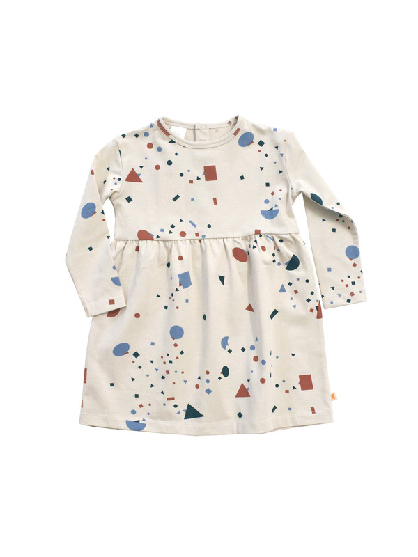 Kid's Tiny Cottons GEOMETRY CHAT DRESS