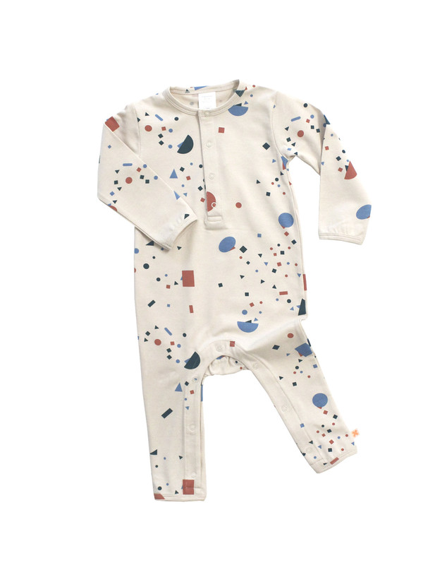 Kid's Tiny Cottons GEOMETRY CHAT ONE PIECE
