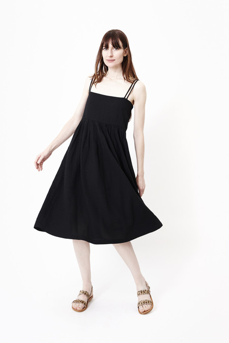 FIRST RITE Sun Dress in Black