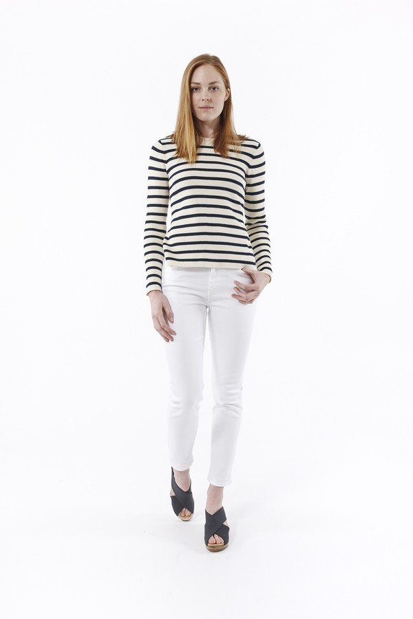 M.i.H. Jeans Tomboy Jeans in White