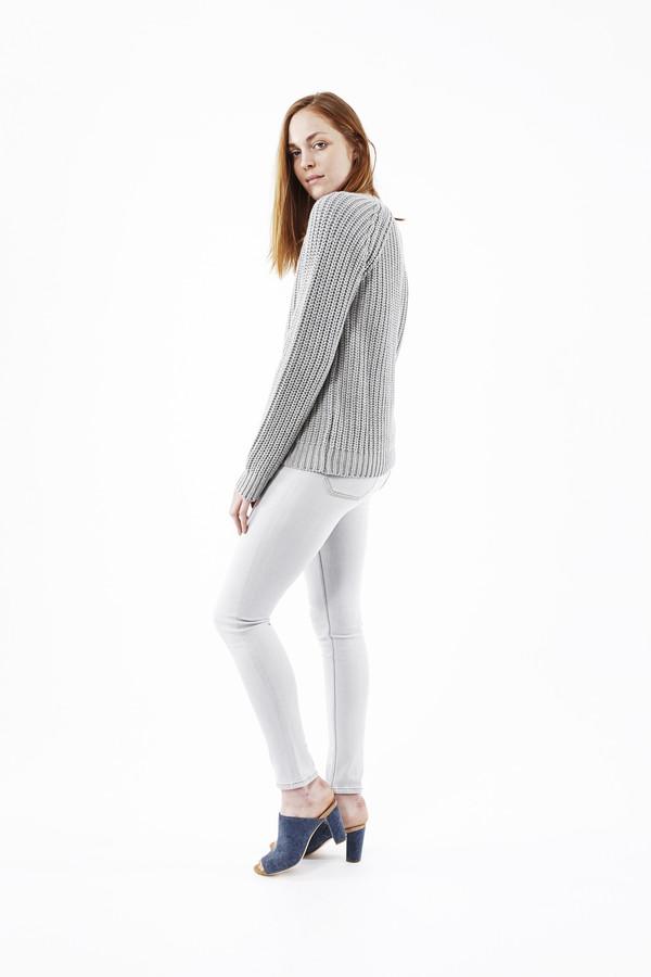 EARNEST SEWN Tourmaline Sweater in Grey