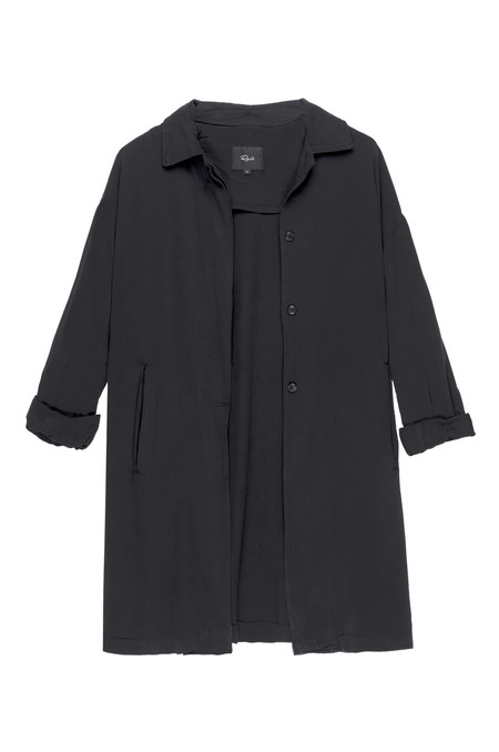 RAILS MONET TRENCH JACKET IN BLACK